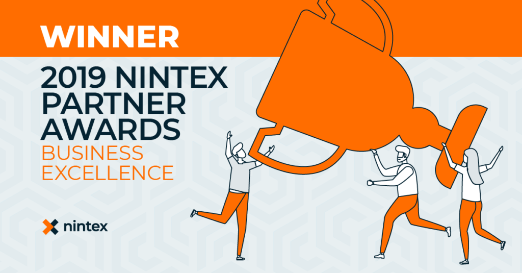 Winner: Nintex Partner 2019